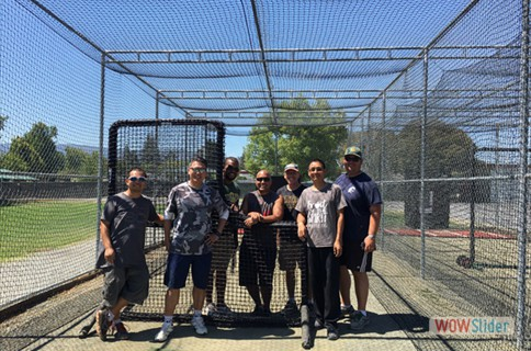 New Batting Cage Nets at De Anza Park